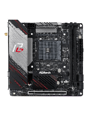 Asrock X570 PHANTOM GAMING-ITX/TB3, AMD X570, AM4, Mini ITX,  HDMI, DP, Wi-Fi, PCIe4, RGB Lighting, Thunderbolt 3