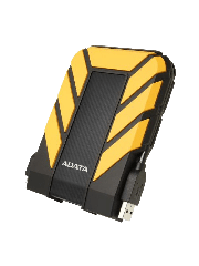 "ADATA 2TB HD710 Pro Rugged External Hard Drive, 2.5"", USB 3.1, IP68 Water/Dust Proof, Shock Proof, Yellow"