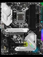 Asrock Z390 STEEL LEGEND, Intel Z390, 1151, ATX, XFire, HDMI, DP, USB 3.2, RGB Lighting, Rock-Solid Durability