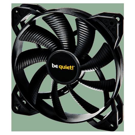 Be Quiet BL040 Pure Wings 2 PWM Case Fan, 14CM, Rifle Bearing - Black