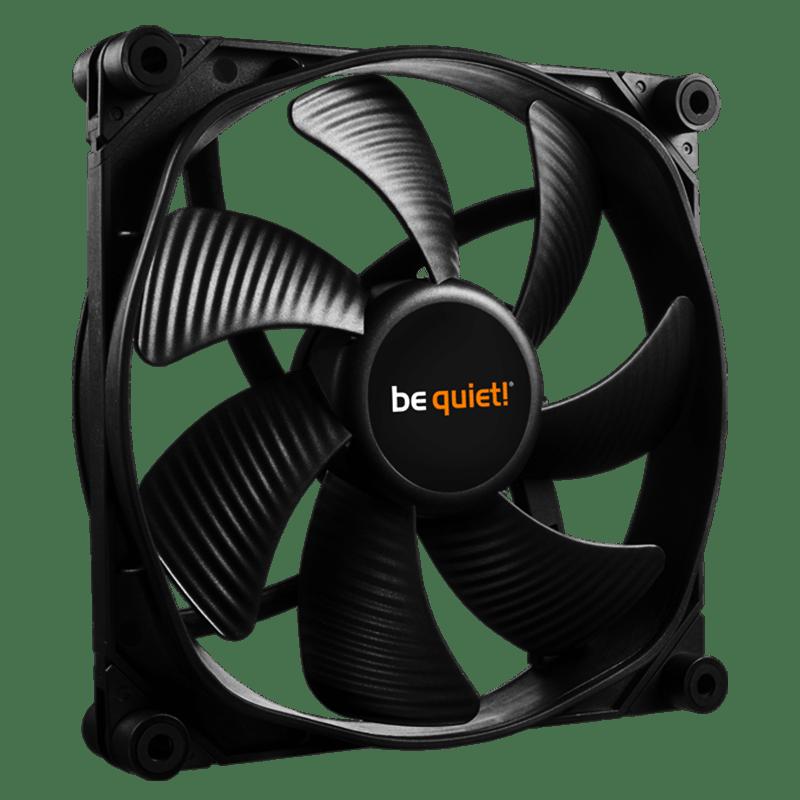 Be Quiet! (BL068) Silent Wings 3 12CM Case Fan, High Speed, Fluid Dynamic Bearing  - Black