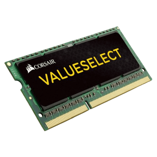 Corsair Value Select 4GB, DDR3L, 1333MHz (PC3-10600), CL9, SODIMM Memory, Single Rank