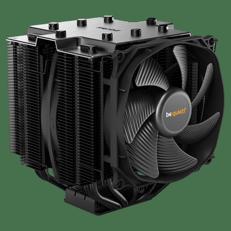 Be Quiet! BK023 Dark Rock Pro4 TR4 Heatsink & Fan, AMD TR4 Socket Only, Dual Silent Wings Fans, Fluid Dynamic - Black