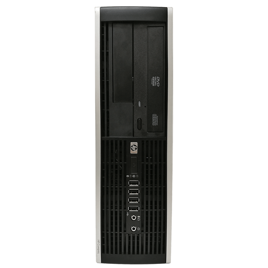 CK - Refurb HP Elite 8000 SFF Intel Core 2 Duo E7500/4GB RAM/250GB HDD/DVD-RW/Windows 10/B
