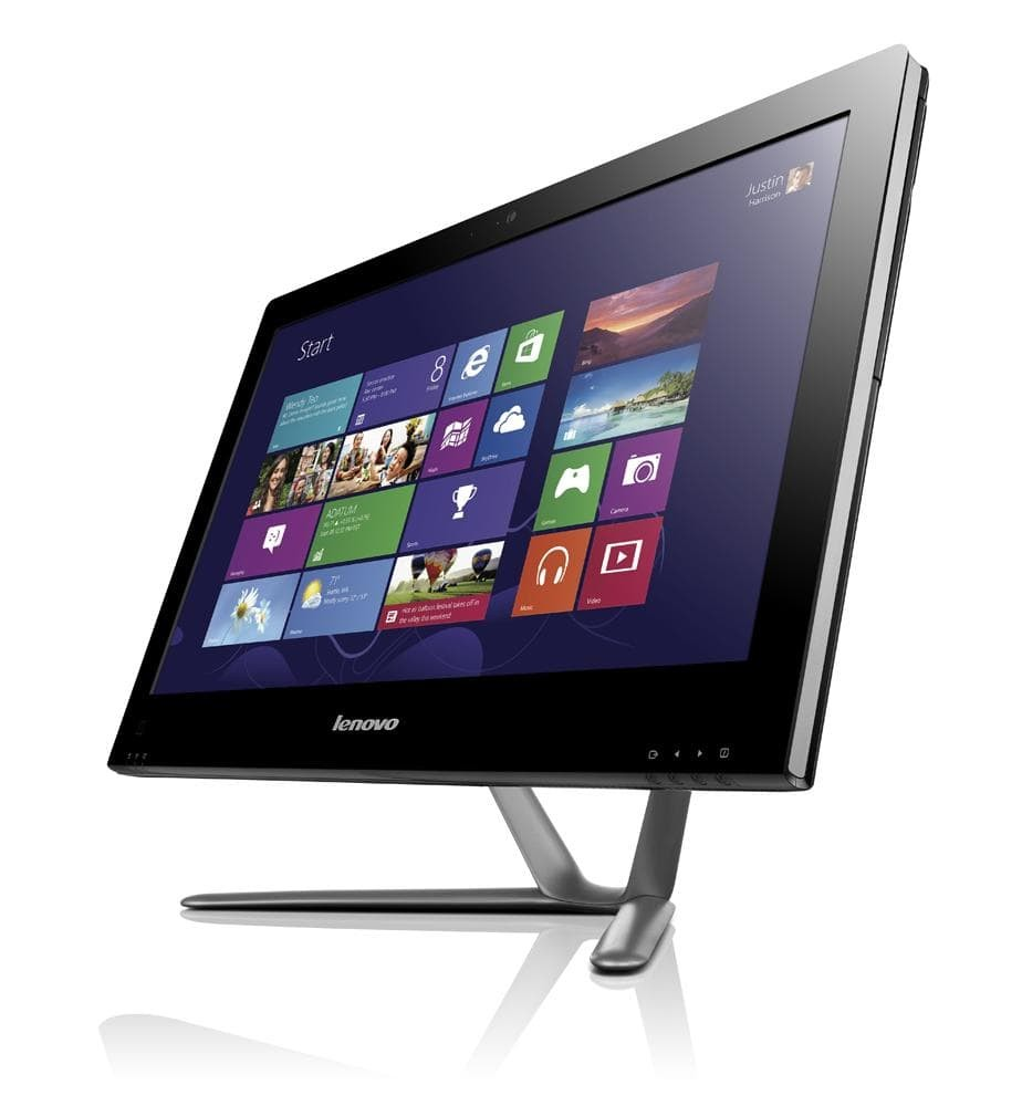 """Refurbished Lenovo C540/i5-3330S/4GB RAM/1TB HDD/DVD-RW/23""""/Windows 10/B"""